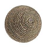 Tandou Haustier-natürliches Gras-Strohball-Kaninchen-Papageien-Guine Hamster-Ratten-Spielzeug-Zahn-Reinigung (L)