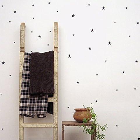 asbent (TM) 39pcs/set dorado patrón de estrellas Arte de Pared Vinilo Adhesivos decoración de la habitación Guardería Pegatinas de Pared para Niños Habitaciones decoración del