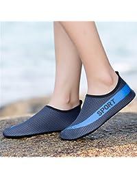 ADLFJGL Yoga Exercise Treadmill Zapatos Zapatos Calzado Zapatos Barefoot Zapatos Vadeando Río Arriba Buceo Zapatos F 37/38 Zapatos De Playa