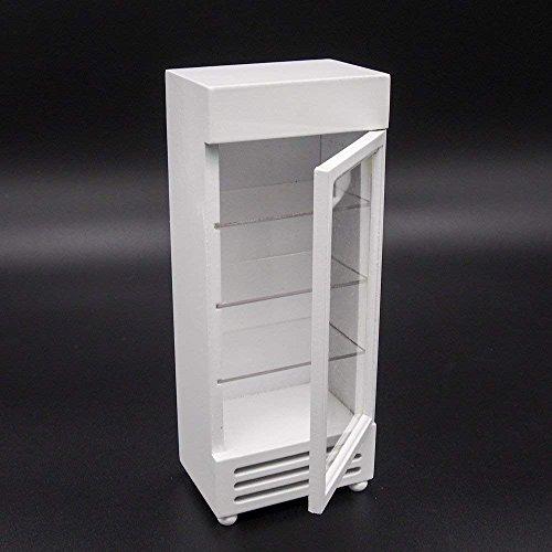 Odoria 1/12 Miniatura Frigorífico Blanco Con Puerta
