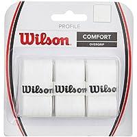 Wilson Profile Overgrip de Tenis, Unisex Adulto, Blanco (White), Talla Única