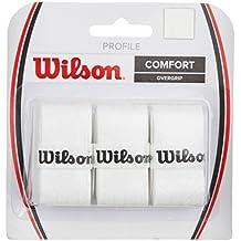 Wilson Profile Overgrip de tenis, Unisex adulto, Blanco (White), Única