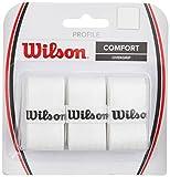 Wilson Overgrip Griffband, Profile Overgrip, 3 Stück, weiß, WRZ4025WH