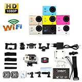WWAVE Sport-Kamera Full HD 1080P WiFi H16R Action-Kamera 4k Camcorder Wasserdicht + Remote-Kamera Deportiva aksiyon Kamera