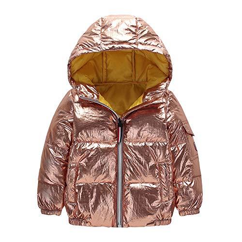 Manteau à capuche Fille Hiver Chaud Ultra Épais Doudoune Fille Longra Bébé  Vêtements dextérieur Chat Imprimé 9ee0e31341e