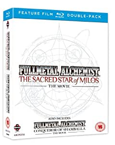 Full Metal Alchemist Movies 1 & 2 Double Pack (The Sacred Star Of Milos/Conqueror of Shamballa) [Blu-ray]
