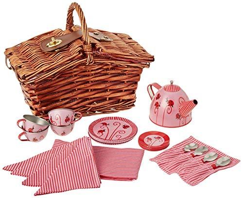 Egmont Toys Picknickkorb mit Marienkäfer-Teeset