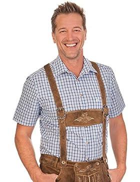 Trachten Herren Hemd mit 1/2 Arm