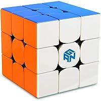 GAN 356 R S, Cube de Vitesse 3x3 356RS Cube Magique Puzzle Jouet Cadeau (Stickerless)