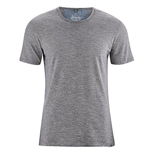 HempAge Herren T-Shirt Marc aus Hanf/Bio-Baumwolle Melange