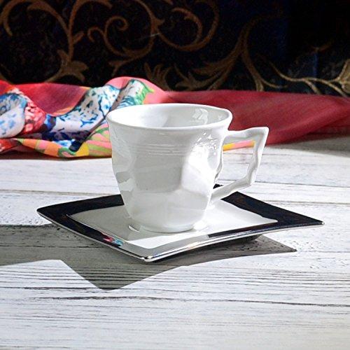 HONGYUANZHANG Kaffee Tasse Keramik Kaffeetasse Esszimmer Wohnzimmer Schale Home Office Tasse (60 Ml)