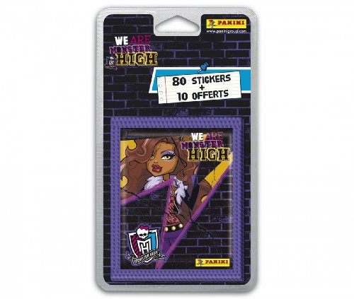 80 Stickers + 10 Offerts We Are Monster High