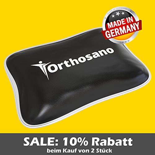 Profi Moorwärmekissen (Moorgel) von ORTHOSANO® ~ inkl. Gratis Baumwollhülle ~ Made in Germany ~ Moorwärmflasche
