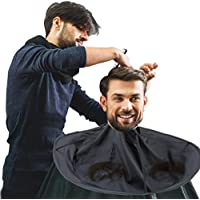 Barber Capes, Hair Cutting Cape Umbrella Salon Barber Peluquería Hair for Adult(Negro)
