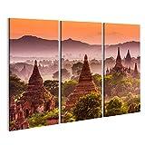 islandburner Bild Bilder auf Leinwand Alte Tempel Bagan,