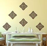 Decor Villa Mesmerising motif Wall Stick...