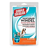 simple solution Hunde Windeln waschbar L