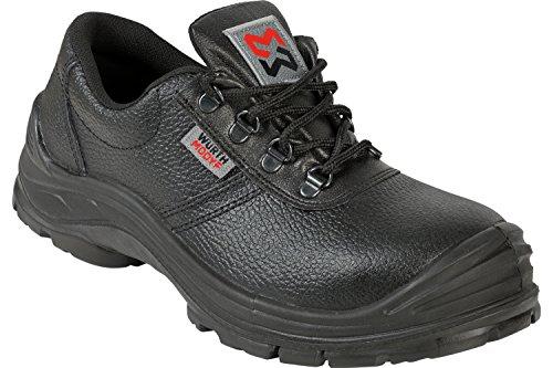 WÜRTH MODYF Sicherheitsschuhe S3 SRC BAU AS schwarz: Der multifunktionale Schuh ist in Größe 45 erhältlich. Der zertifizierte Arbeitsschuh ist ideal für Lange Arbeitsalltage.