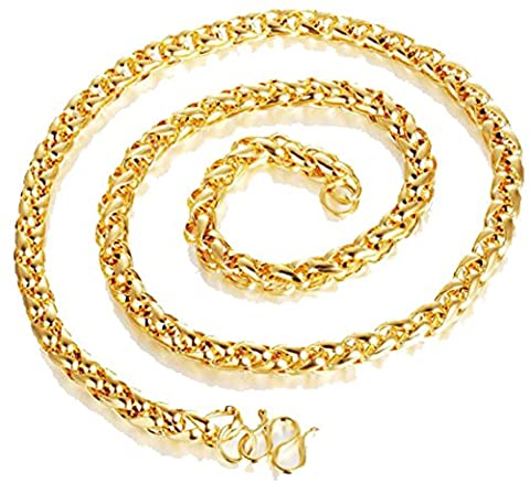 SaySure- Vintage Gold Plated Necklace Men Casual Cool