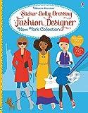 Sticker Dolly Dressing Fashion Designer New York Collection