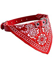 Foodie Puppies Adjustable Nylon Neck Scarf Bandana Collar for Dogs Puppy and Cats - Small, (Color May Vary)