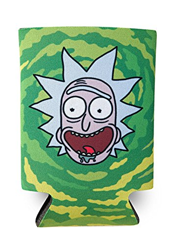Rick and Morty - Rick, Officially Licensed Artwork - Can Cooler