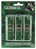"""Feuerzeuge mit integriertem Flaschenöffner (3er-Pack) - """"Guinness Ireland""""-Kollektion"""