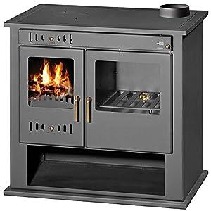 Chimenea de estufa de leña para sistema de calefacción central, horno, cocina, caldera integral, descargador térmico de…