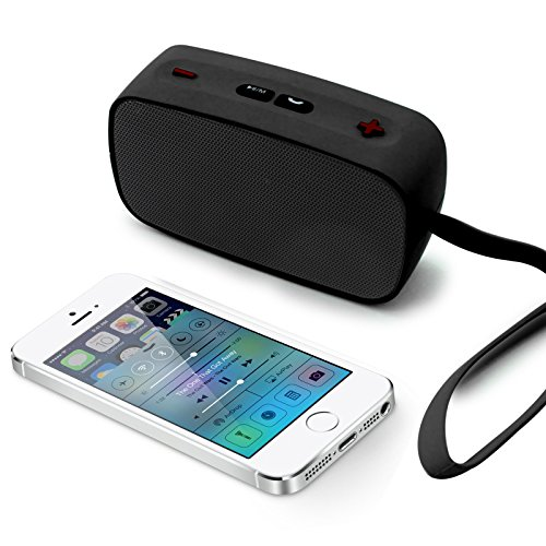 DMG Bluetooth Speaker, SDH - 200 HiFi Mini Wireless Bluetooth Music Speaker Built - in Microphone Support AUX External Audio Input with TF AUX USB FM EQ Function (Multicolour)