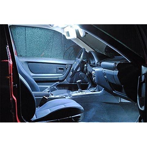 11x LED Iluminación Interior Opel Astra H GTC OPC Caravan Juego lámpara luz Color blanco