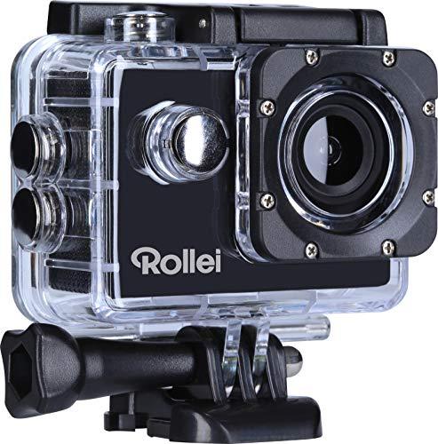 Rollei Action Cam Family Action-Camcorder mit Full HD Auflösung 1080/30fps. Super 120 Grad Weitwinkel Objektiv und WiFi, inklusiv Unterwassergehäuse und viel Zubehör