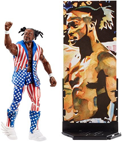 WWE Figura Elite Kofi Kingston, Multicolor (Mattel FMG64)