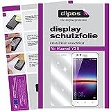 dipos I 2X Schutzfolie klar passend für Huawei Y3 II Folie Displayschutzfolie