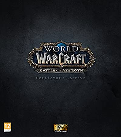 World of Warcraft: Battle of Azeroth Collector's Edition PC DVD