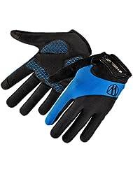 TININNA Unisex Guantes de invierno, cálido térmica pantalla táctil guantes de exteriores cortavientos deporte snowboard completo dedo Gloves para Ciclismo Esquí Senderismo caza escalada bicicleta para hombres mujeres, color azul, tamaño X-Large