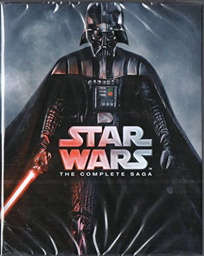 Star Wars: The Complete Saga (Region free, Import ) [Blu-ray