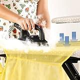 Sichler Haushaltsgeräte Bügelstation: AKTIV-Bügeltisch mit 1.800 Watt Dampfbügelstation (Dampfbügelstation mit Tisch) - 4