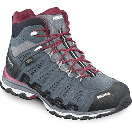 Meindl X-SO 70 Lady Mid GTX Größe UK 7 bordeaux/anthrazit
