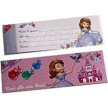 Disney La Principessa Sofia inviti per party Vieni alla mia festa
