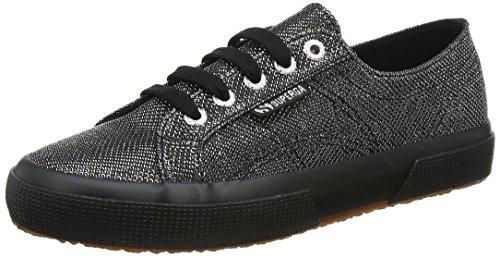 Argento 37 EU Superga 2750 Fabriclamerhombusw Sneaker Donna Silver jli