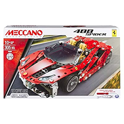 Meccano - 20075244 - Jeu de Construction - Ferrari 488 Spider