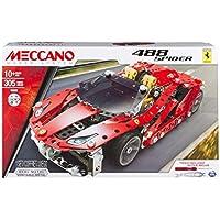 Meccano Ferrari 488 Spider - Gioco di costruzioni, 20075244