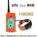 Système de repérage GPS pour chien sans abonnement DOGTRACE X20 orange fluo