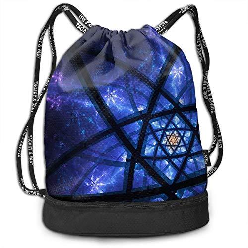 er Fantasy Print Drawstring Bags - Simple Gym Shoulder Bags ()