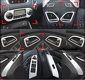 hyundai ix35 bis bj 2013 chrom tuning innenraum. Black Bedroom Furniture Sets. Home Design Ideas
