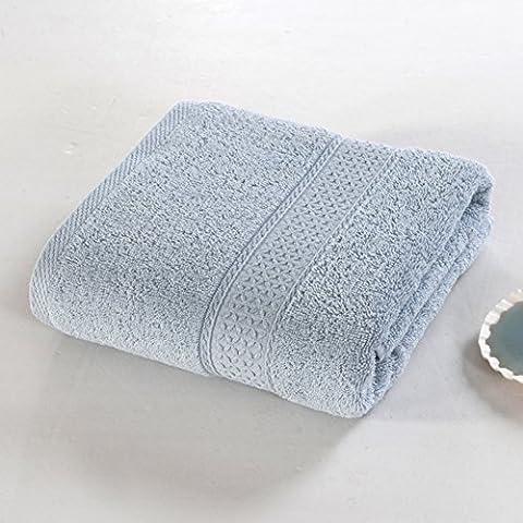 Algodón toalla de baño color sólido fijado para adultos/ toalla grande/ toallas del hotel de cinco estrellas/ de algodón llano colores toallas/ parejas masculinas y femeninas toalla absorbente-W