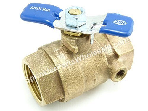 Shut-off Ball Valve (#1 Shut-off Valve - Febco 1 Wilkins 1, Watts 1 Tapped Ball Valve by Febco)
