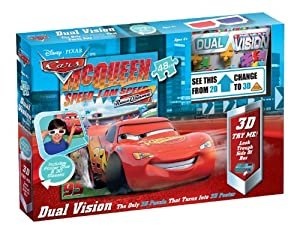 Pressman Dual Vision Disney Cars - Puzzle en 3D
