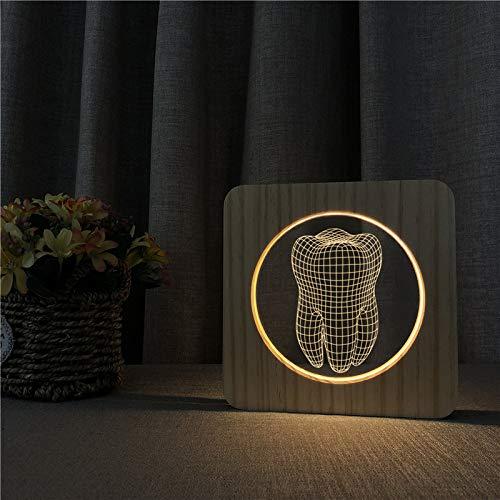 Lampada per design odontoiatrico lampada interruttore di controllo controllo lampada per incisione per la consegna della decorazione della stanza dei bamb