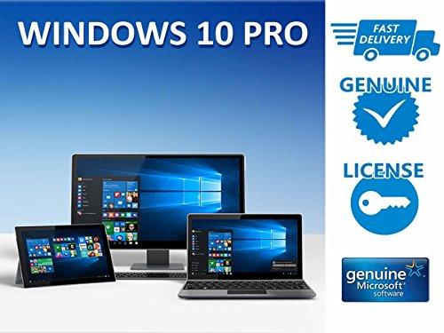 Preisvergleich Produktbild Microsoft Windows 10 Professional - Vollversion 32-Bit/64-Bit - vollwertige Update-Berechtigung